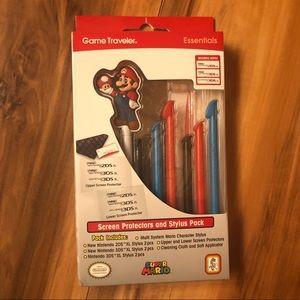 Super Mario Accessory Kit - Brand New! 🍄